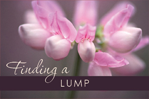 Finding A Lump